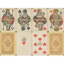 Berliner Bild Altenburger Spielkartenfabrik 1889 - 1893 (WK 15784)