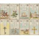 Cartes Lenormand No. 2 Cartes de Bonne Aventure (WK 15802)