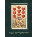 Deutsche Spielkarte Ludwig Burger (WK 15859)