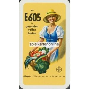 Bayerisches Doppelbild VASS 1960 E 605 Bayer Pflanzenschutz (WK 14912)