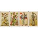 Deutsche Spielkarte Ludwig Burger (WK 16024)