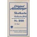 Preußisches Doppelbild VEB 1949 Hallisches Bild Nr. 200 (WK 16054)