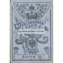 Feldherren Karte Sorte B (WK 16130)