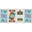 Preußisches Doppelbild Spielkartenfabrik Altenburg 2006 Stadtwerke Weißenfels (WK 16059)