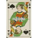 Bielefelder Spielkarte No. 110 Gundlach Heye Glasfabrik (WK 16593)