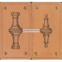 Schachspielkarten - Chess Cards - Cartes Echecs (WK 16464)