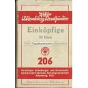Böhmisches Bild / Prager Bild VASS 1940 Einköpfige 206 (13757)