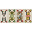 Deutsche Kriegs-Spielkarte 800 - 899 Tausend (WK 16886)