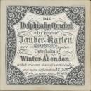 Das Delphische Orakel oder Zauber-Karten (WK 17026)