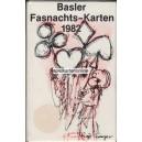 Basler Fasnachtskarten 1982 (WK 14473)
