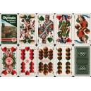 Bayerisches Doppelbild VASS 1972 Olympia Schafkopf Tarock 1430 (WK 14090)