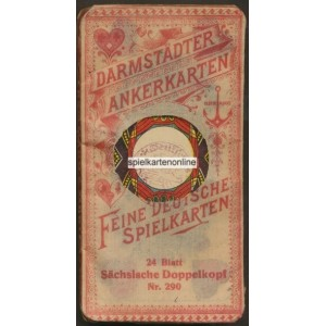 Sächsisches Doppelbild Frommann & Morian 1919 (WK 17094)