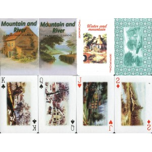 Mountain and River Playing Cards No. 2090 (WK 12574)