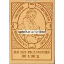 Jeu des Philosophes de l'An II (WK 15297)
