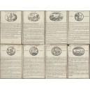 Jeu de cartes d'Histoire Naturelle Jouy 1808 (WK 13693)