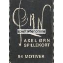Axel Ørn Spillekort (WK 14853)